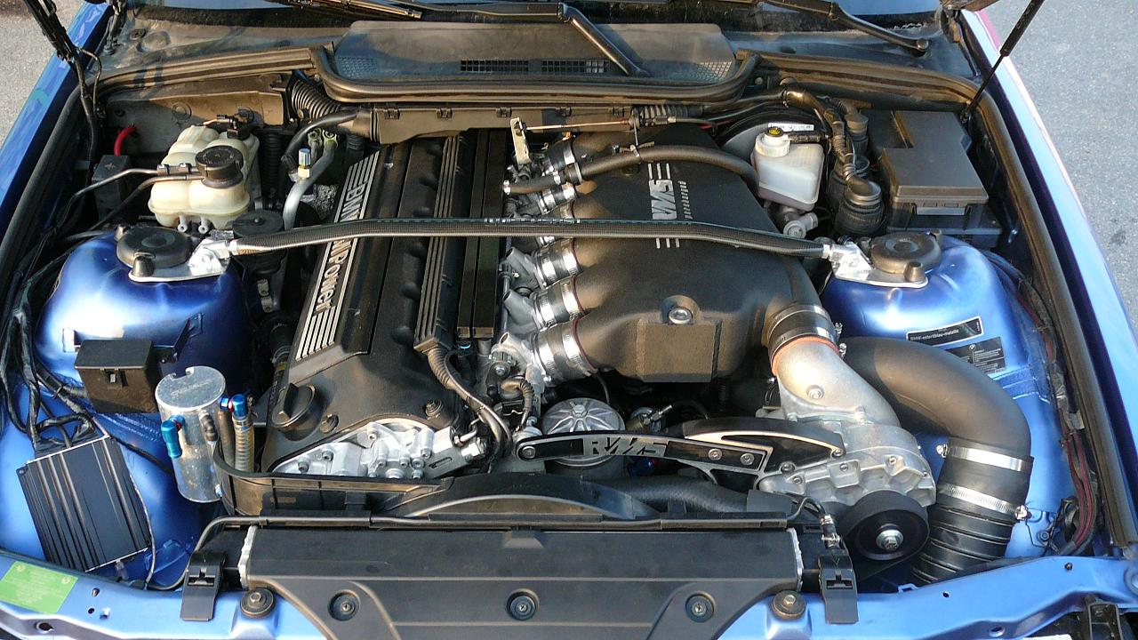 Stage 3 Bmw E36 Euro M3 Supercharger Kit